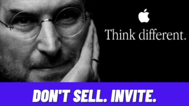 Don't Sell. Invite